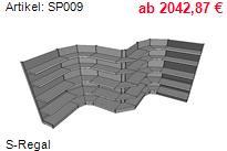 Tegometall Stahlfachböden
