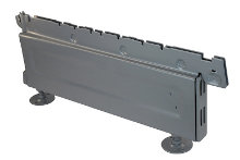 Tegometall Fussteil H 160 T 370 VERZINKT