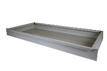 Tegometall Fußteilschublade H 100 L 1000 T 470