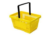 Tegometall Einkaufskorb 22 Liter gelb