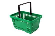 Tegometall Einkaufskorb 22 Liter grün