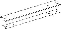 Tegometall Abdeckung für Beleuchtung T 60 L 1000 RAL 9006