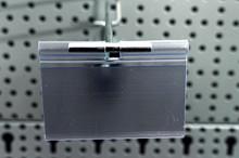 Tegometall Doppelklapphaken T200 mit Etikettenhalter