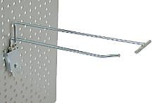 Tegometall Einfachklapphaken T200 mit Etikettenhalter / 4,8mm