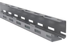 Tegometall Adapter für Rundsäule 60mm H900mm RAL 9006
