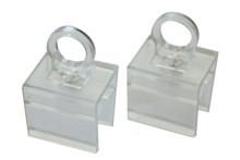 Tegometall Aufhängeösen drehbar für Plakatrahmen DIN A3 - DIN A6