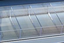 Tegometall Beispiel Fachboden 100X47cm H7,5cm