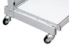 Tegometall fahrbares Regal H140cm Typ 20
