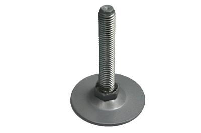 Tegometall Fußteller 7cm aus Metall verzinkt