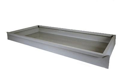 Tegometall Fußteilschublade H 100 L 1330 T 470