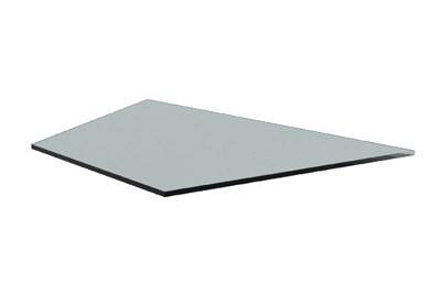 Tegometall Glasfachboden IE45° T250