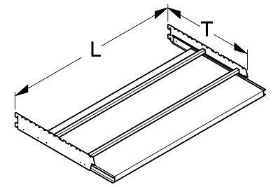 Bedienungsauszug mit Rahmen L 1000 T 470