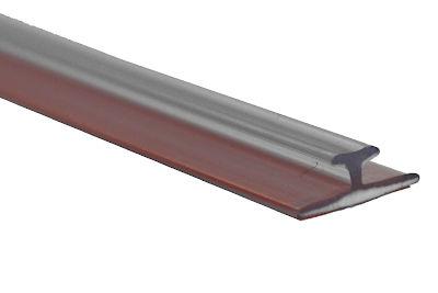 Tegometall Adaper T-schiene für Holz- und Glasböden B 1245 T 12  H 5
