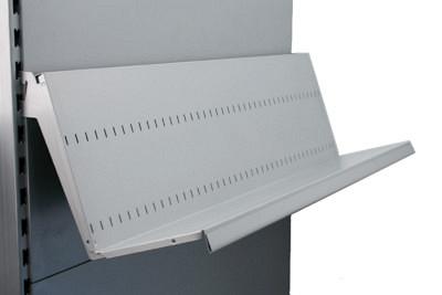 Tegometall Bücherablage H200 L1000 T300mm