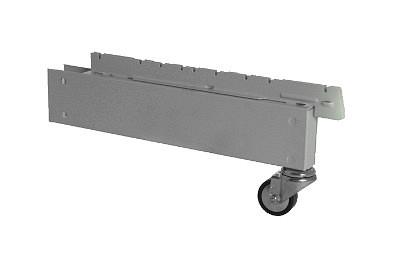 Tegometall Fußteil H170 T370 für Halbgondelständer fahrbar