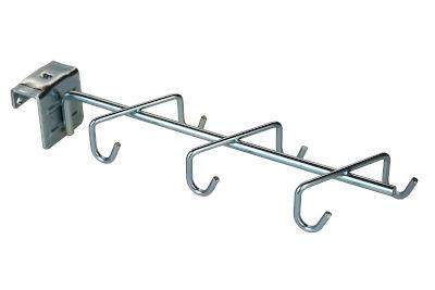 Tegometall Halter für Geräte ohne Stiel L30 cm mit 6 Haken