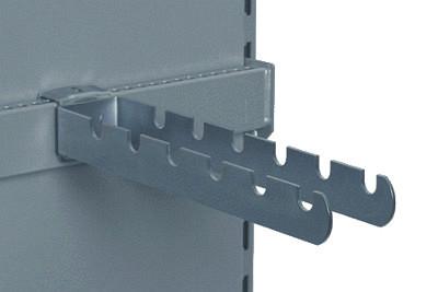 Tegometall Gerätehalter L40/B6cm verzinkt