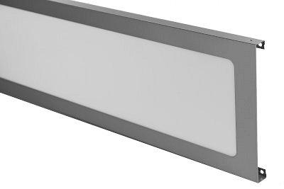 Tegometall Blende H 200 L 665 mit Ausschnitt