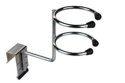 Tegometall Halter für Haartrockner für Trageschiene 50X20mm