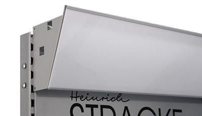 Tegometall Diarahmen L1250 T190 H240mm RAL 9006