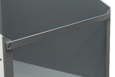 Tegometall Frontleiste für Tapetenbox L550mm