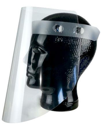 Tegometall Gesichtsschild mit Kunststoffbund