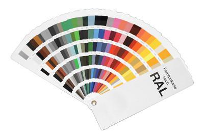 Tegometall Farbtonkarte nach RAL kompakt