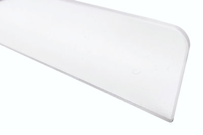 Frontscheibe Kunststoff L 1000 H 60