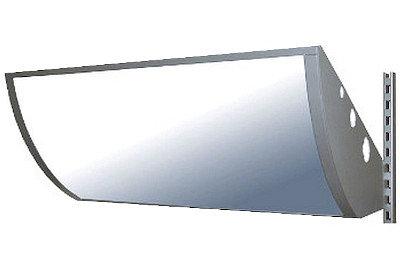 Tegometall Dekorblende rund H 420 L 1000