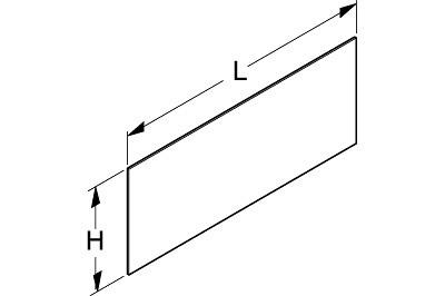 Tegometall Acryleinsatz für Leuchtkasten rund B100 H40 T47cm