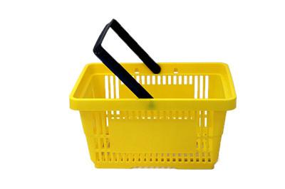 Einkaufskorb 22 Liter gelb