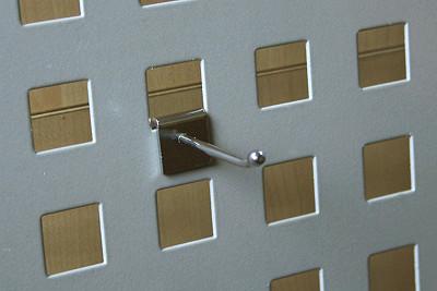 Tegometall Einfachhaken T 50 verchromt