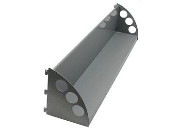Tegometall Buchablage T160 H200 L665mm
