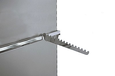 Tegometall Bügelhalter schräg T200mm verchromt