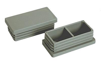 Tegometall Deckkappen für Säule 50 X 30 RAL 7035