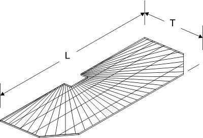 Tegometall Gitterstirnfachboden L 830 T 370