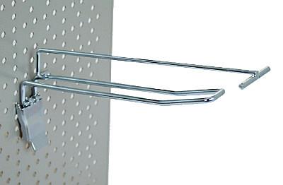 Tegometall Doppelklapphaken T400 mit Etikettenhalter