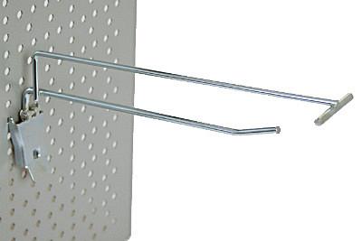 Einfachklapphaken T400 mit Etikettenhalter / 8mm