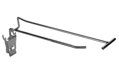 Tegometall Einfachklapphaken T400 mit Etikettenhalter / 6mm