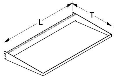 Tegometall Halterahmen L125 T55cm