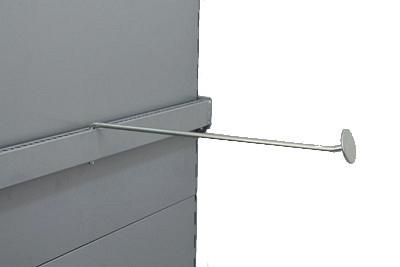 Aufsteckhalter verzinkt  schwenkbar mit Platte T400 für Trageschiene