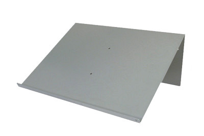 Tegometall Ablage schräg für Rückwand RL/SL T340 B430mm 9006