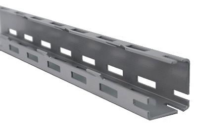 Tegometall Adapter für Rundsäule 60mm H1100mm RAL 9006