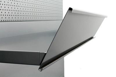 Tegometall Blendenhalter in Säule T300-T450 L1000
