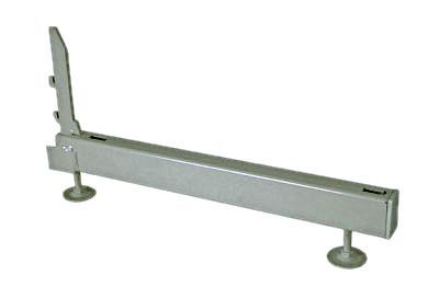 Tegometall Fußteil HD H7 T47cm