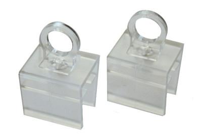Tegometall Aufhängeösen drehbar für Plakatrahmen DIN A2