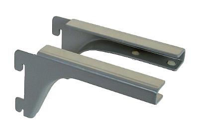 Tegometall Glasbodenträger links/rechts T 120 RAL 9006