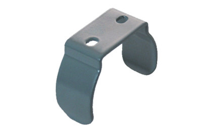 Tegometall Befestigungsklammer RAL 9006