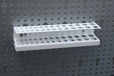 Bohrerleiste 188 X 40 X 40mm RAL 9003