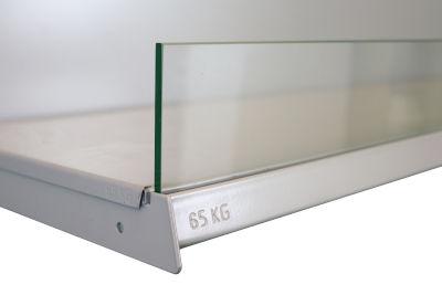 Tegometall Frontscheibe Glas L 1250 H 95